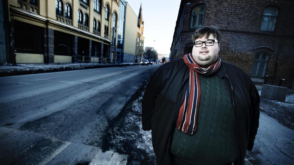 SKAL OPERERES: J�rgen Foss har slitt med sykelig overvekt hele livet. N� skal han fedmeopereres. Foto: Christian Roth Christensen / Dagbladet