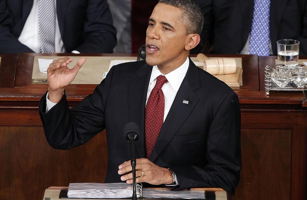 BEKYMRET: President Barack Obama ble i natt intervjuet om situasjonen rundt Irans atomv�penprogram. Foto: AP Photo/J. Scott Applewhite