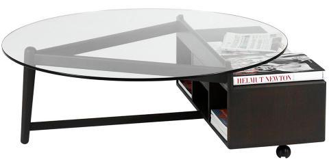 FORM OG FUNKSJON: Med dette bordet fra svenske Norrgavel holder du orden på ting og tang - på en stilig måte. Foto: Produsenten