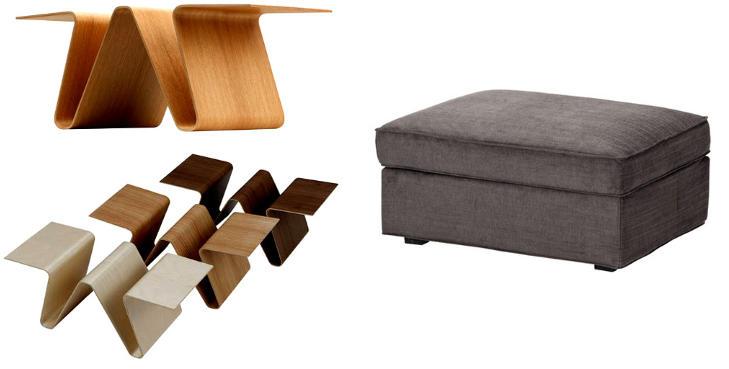 TENK MULTIFUNKSJONELT: Smarte møbler med flere funksjoner letter jobben med å holde hjemmet i orden.  Foto: Norway Says, Ikea