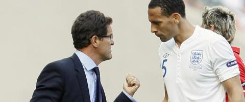 Ferdinand h�ner Capello for spr�ket