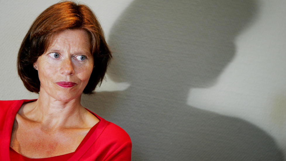 D�DE AV KREFT: Tidligere milj�vernminister Siri Bjerke er d�d, 53 �r gammel. Bildet er fra fra 2006. Foto: H�kon Mosvold Larsen / SCANPIX
