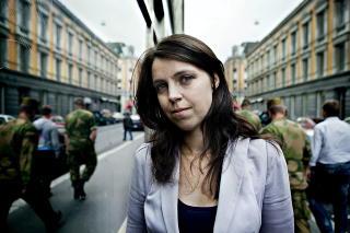 EGEN REDAKSJON:  Alexandra Beverfjord, nyhetsredakt�r i Dagbladet.  Foto: Nina Hansen / Dagbladet