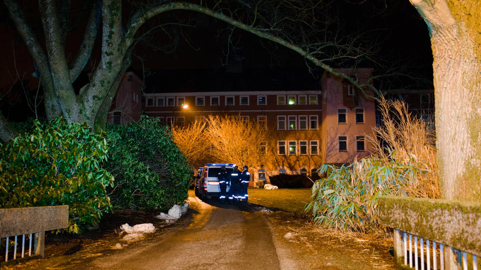 KNIVDRAP: En mann ble knivdrept ved Dale Asylmottak p� onsdag denne uka.  Foto: Kent Skibstad / Dagbladet