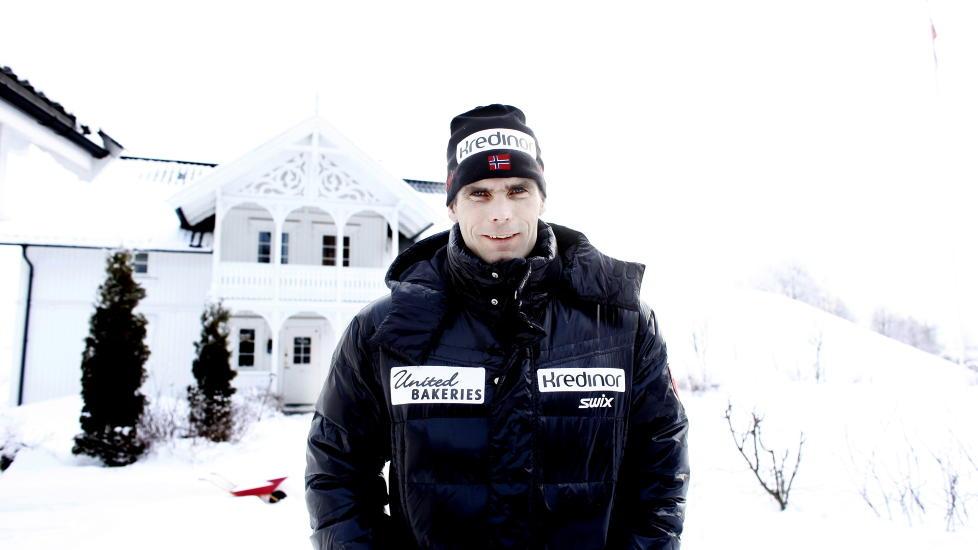 SELTILLIT: - Jeg ville vunnet om jeg skj�v alt annet til side, sier Thomas Alsgaard om Vasaloppet. Foto: KRISTIN SVORTE