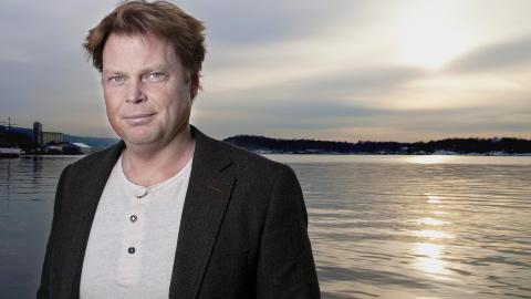 KAN VINNE: J�rn Lier Horst er blant forfatterne som kan vinne Rivertonprisen i �r. Foto: Melisa Fajkovic / Dagbladet.