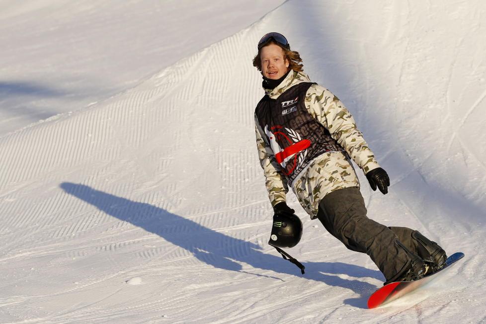 VANT: Alexander �streng fulgte opp god VM-innsats ved � vinne slopestylefinalen i TTR-konkurransen Burton European Open.Foto: H�kon Mosvold Larsen / Scanpix