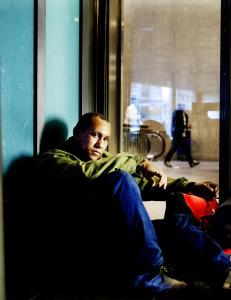 Aldona (26), Hugo (31) og Hernandes (44) har flyktet fra skyh�y arbeidsledighet i hjemlandet