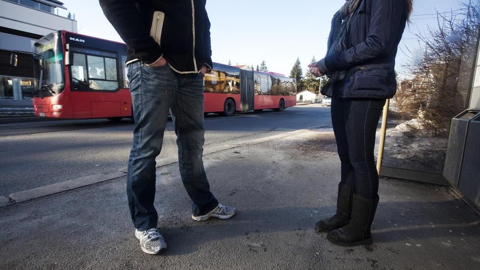 RYSTET: Cecilie ble overfalt og ranet av en guttegjeng da hun tok bussen. Foto: Henning Lilleg�rd / Dagbladet