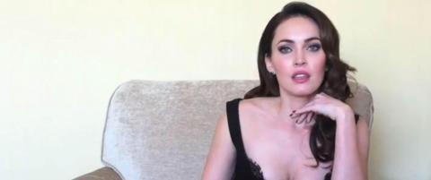 Ektemannen og s�nnen fulle av begeistring for Megan Fox