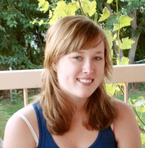 DREPT: Andrine Bakkene Espeland (16). Foto: Privat