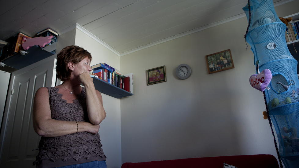 MISTET DATTEREN: I g�r fikk Unni Espeland Marcussen vite at hennes datter Andrine var den siste som ble drept p� Ut�ya. Foto: Anita Arntzen