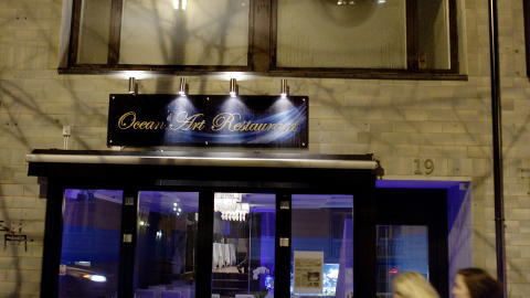 Restaurant Ocean Art i Bygd�y All� FOTO: ADRIAN �HRN JOHANSEN/ DAGBLADET