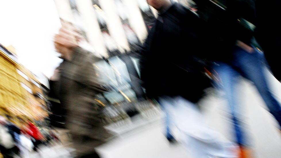 H�YT TEMPO:  En hektisk hverdag kan tappe deg for energi. S�rg for � ta kontroll over stresset.  Foto: OLE C. H. THOMASSEN / Dagbladet