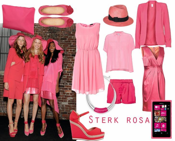 ROSA: Rosa blide jenter som gikk catwalken f