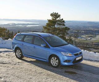FORD FOCUS: Det er et godt utvalg av andre generasjon Ford Focus. Bilen har de beste veiegenskapene i kompaktklassen.