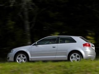 AUDI A3: Gir litt bedre kvalitetsf�lelse enn andre kompaktbiler.