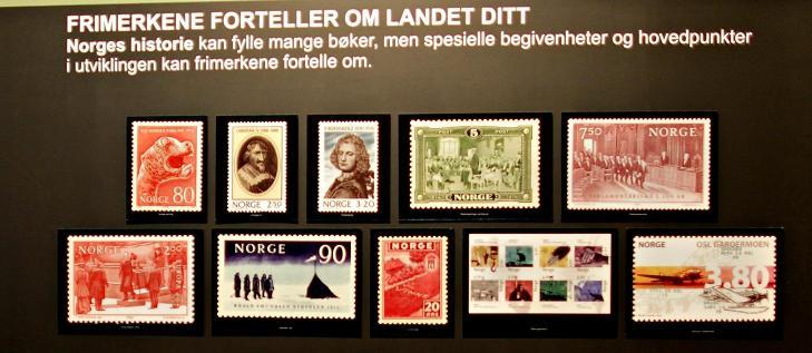 FRIMERKER: Vakre, historiske og verdt � samle p�. Foto: OLE C.H. THOMASSEN
