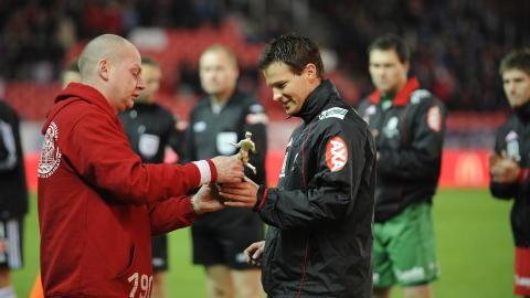 �RETS SPILLER:  Petter Vaagan Moen ble k�ret til Branns beste spiller i 2010. Foto: Marit Hommedal / Scanpix