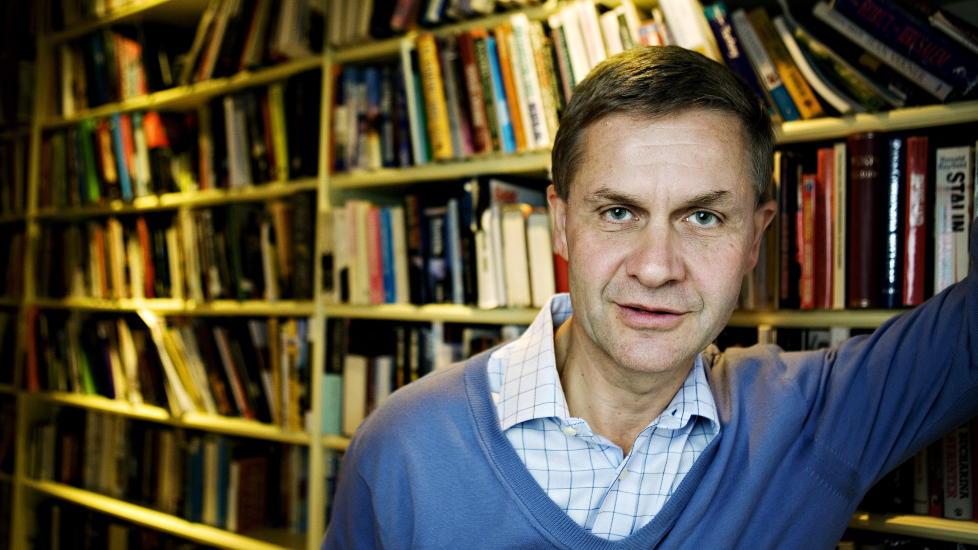 KASTES UT: Milj�- og utviklingsminister Erik Solheim skal ut av regjering. Foto: NINA HANSEN , Dagbladet.