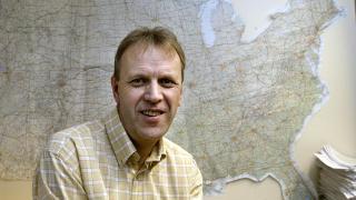 Forsker Svein Melby. Foto: Bj�rn Sigurds�n / SCANPIX .