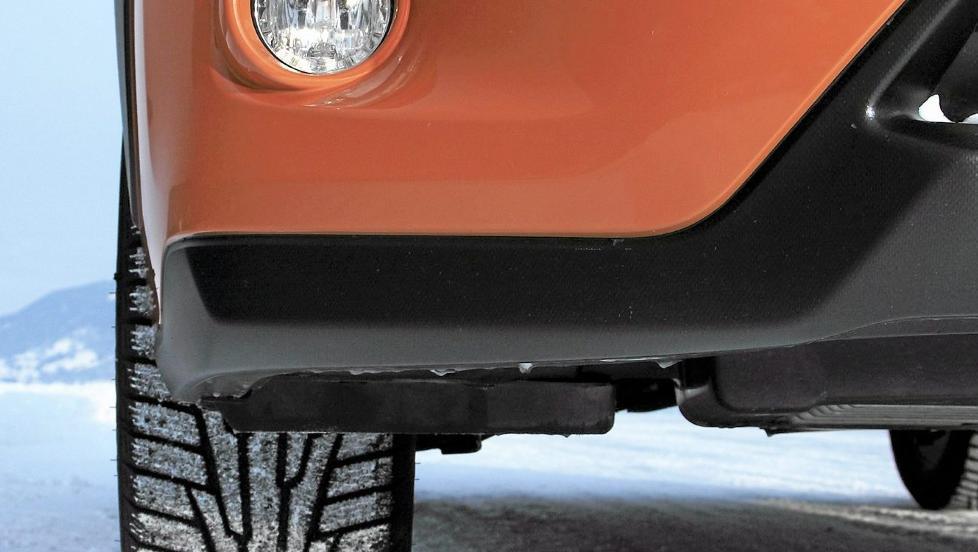GJERRIG 4WD: Den nye Subaru XV er per mars 2012 den firehjulsdrevne bilen som har brukt minst drivstoff i v�re tester. FOTO: Egil Nordlien, HM Foto