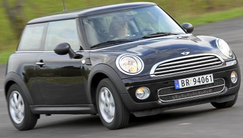 BILLIGST: Ingen annen bil har g�tt billigere i v�r forbrukstest enn Mini One D med et forbruk p� 0,4 liter per mil. Terje Bj�rnsen