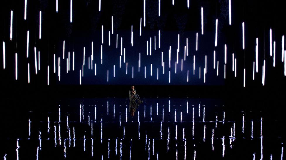 VERDENSPREMIERE: Ballettutgaven av �Is-slottet� har urpremiere 27. mars. Nasjonalballetten framf�rer den p� Operaens Scene 2. Foto: Erik Berg, Den Norske Opera