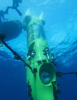 «Titanic»-regissør nådde havets dypeste punkt