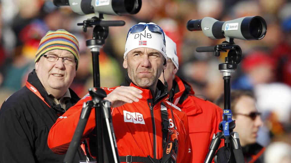 F�R IKKE FORTSETTE: Mikael L�fgren er ferdig som landslagstrener i skiskyting. Foto: H�kon Mosvold Larsen, Scanpix