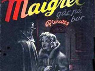 NORSK UTGAVE: �Maigret g�r p� bar� heter den norske utgaven av �Maigret au Picratt's�.