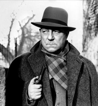 KLASSISK: Mange skuespillere har framstilt Maigret. En av dem var Jean Gabin, som ogs� var en venn av Georges Simenon.