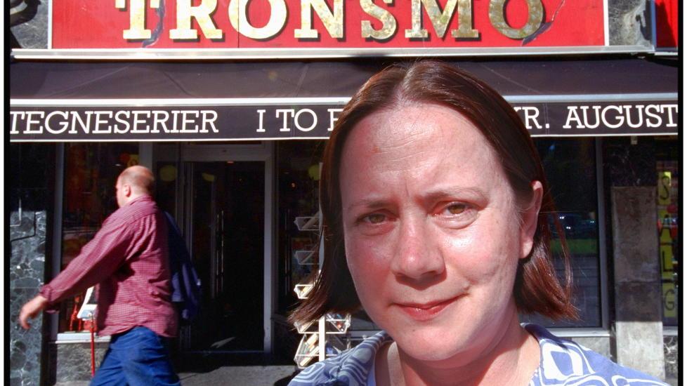 P� FLYTTEFOT: Tronsmos daglige leder Eva Stenlund Thorsen har begynt � se etter ledige butikklokaler, etter at Entra har kj�pt Kristian Augustsgate 19.  Foto:Tomm W. Christiansen/Dagbladet