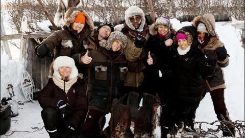 GJENGEN: �Robinsonekspedisjonen vinter�, 2012. Foto: TV3