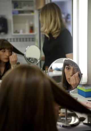 FOKUSERT : -Det beste med jobben min er at den er intellektuelt stimulerende, sier Pia. Foto: Anita Arntzen / Dagbladet