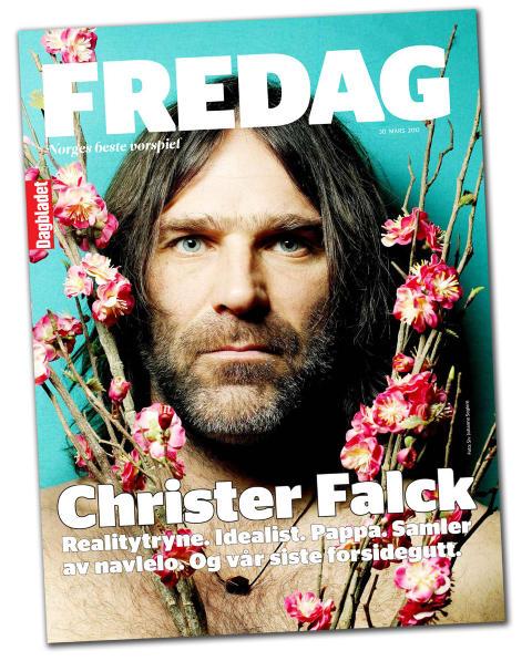SISTE FREDAG: I dag f�lger den aller siste utgaven av FREDAG med Dagbladet. Etter p�ske erstattes magasinet av en ny featureseksjon i hovedavisa.