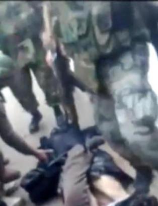 Assad-styrkenes groteske skrytevideo