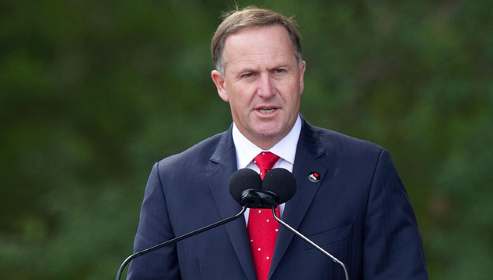 STATSMINISTEREN: New Zealands statsminister John Key har n� fortalt New Zealandsk presse at �Nilaya� ikke er tatt i arrest p� anmodning fra New Zealandske myndigheter. Bildet er fra en tidligere anledning. Foto: AFP PHOTO/MARTY MELVILLE/SCANPIXNTB