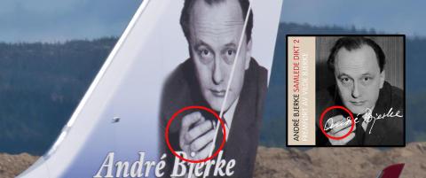 Retusjerte sigaren til Andr� Bjerke