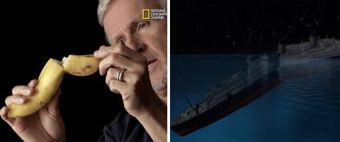 - «Titanic» ble delt i to som en banan