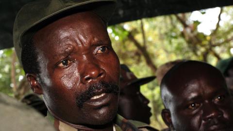 MOT BARNEARBEID LRA-leder Joseph Kony er etters�kt for sv�rt grove krigsforbrytelser. Foto: Stuart Price / AFP Photo
