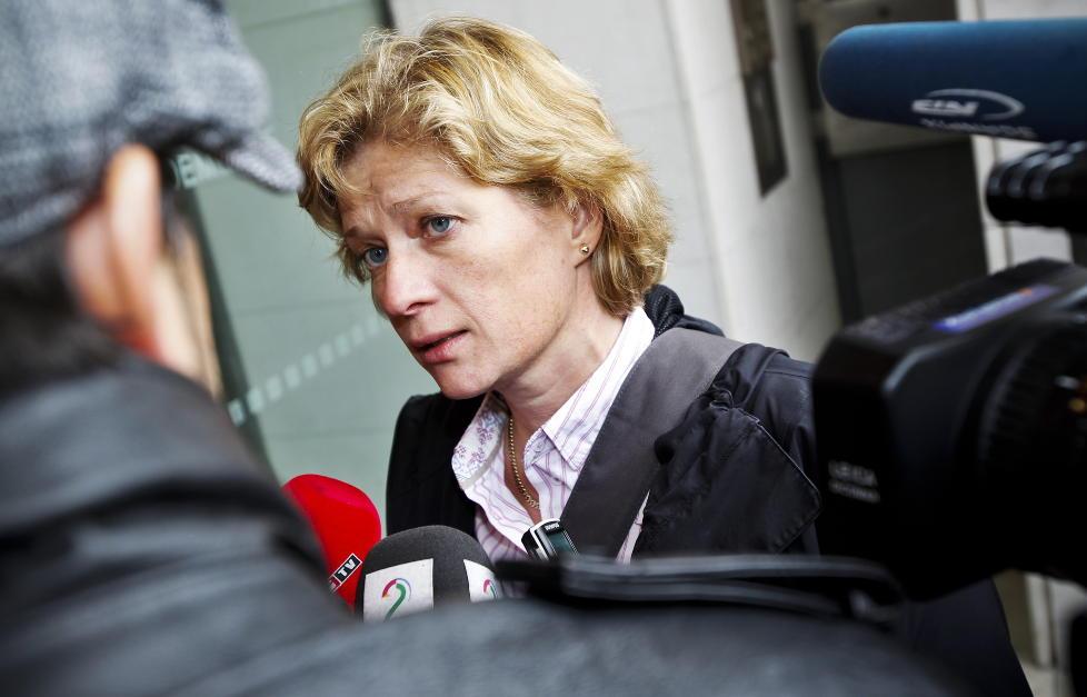 FRAR�DER: Bistandsadvokat Siv Hallgren advarer mot uante konsekvenser ved � st� fram som Ut�ya-offer. Foto: FREDRIK VARFJELL / NTB SCANPIX