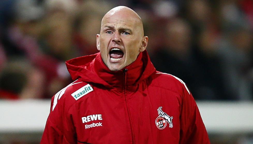 SISTE SKRIK: St�le Solbakken under kampen mot Mainz p� tirsdag. Det endte med 0-4-tap for K�ln. Foto: Kai Pfaffenbach, Reuters/NTB Scanpix