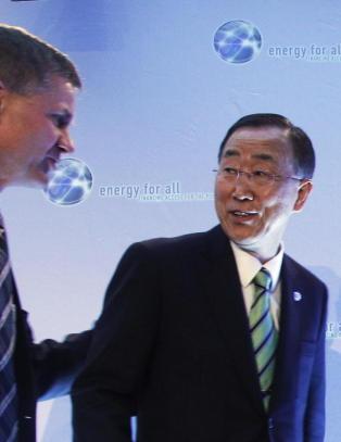 N� vil han bli FN-ambassad�r