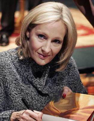 J.K. Rowling rper tittelen p sin nye bok