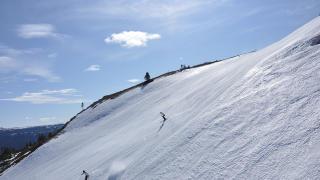 OLYMPIABAKKEN: Fortsatt flott i Kvitfjell. Foto: KVITFJELL