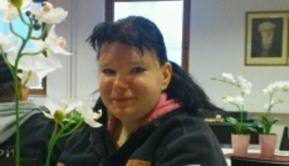 OVERRASKET: Marita Holmerud trodde ikke sine egne �yne da hun skj�nte hva hun hadde funnet. Foto: Privat