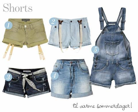 SHORTS: Shortsen har blitt s� popul�r at den nesten erstatter jeansbuksa. Et par av disse i skapet er en lifesaver i v�r og i sommer! FOTO: Produsentene