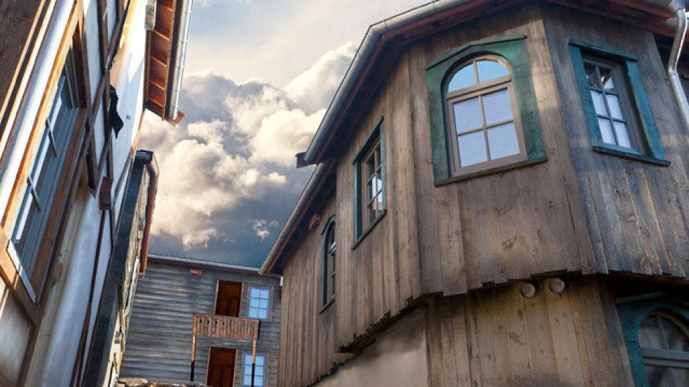 OVERNATTING: Nytt av �ret i Kristiansand er at du kan bo som en sj�r�ver med kort vei b�de til Dyreparken og Kaptein Sabeltann. Foto: DYREPARKEN