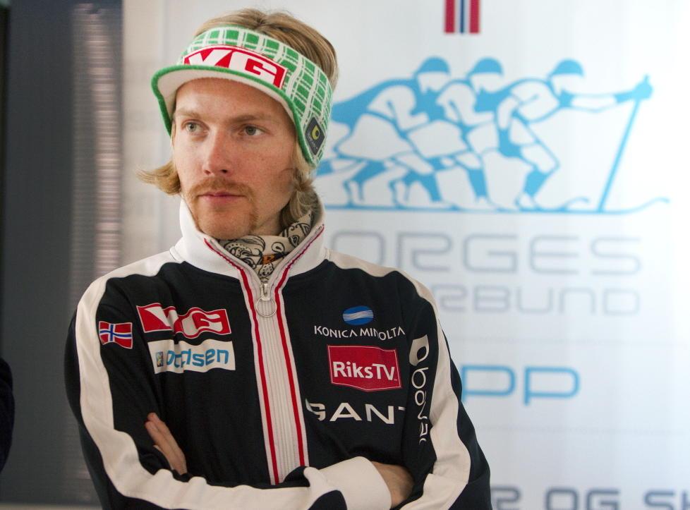 NY BART: Bj�rn Einar Rom�ren har skiftet stil. Han har v�rt med p� flere NM i hopp, men er han ogs� klar for NM i bart?Foto: Morten Holm / NTB scanpix